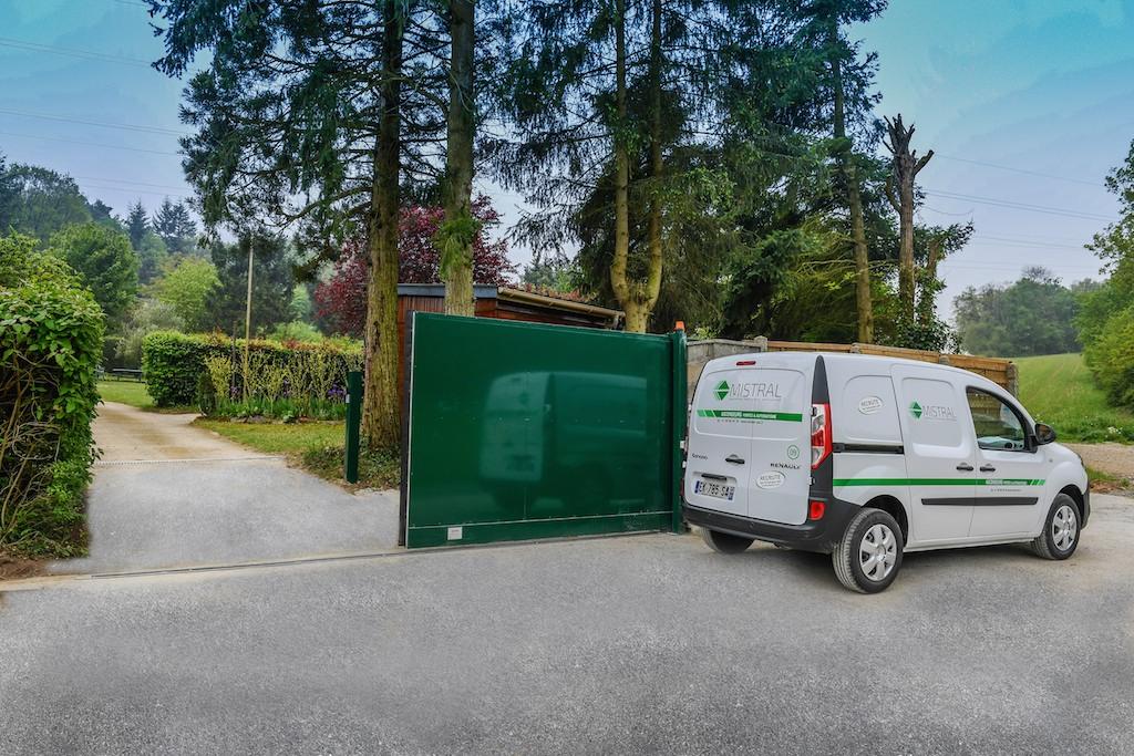 Portails automatiques mistral sas for Grand garage montluconnais sas